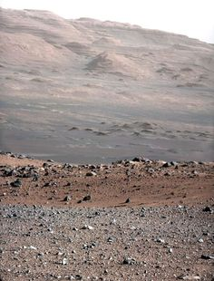Powerful Nature! - Martian Landscape from Mars Curiosity
