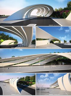 Parametric Entrance  http://www.designcoding.net/284/