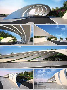 Parametric Entrance  http://www.designcoding.net/284/