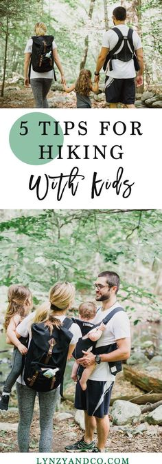 We love reading tips for hiking with kids, here are some by Lynzy & Co.