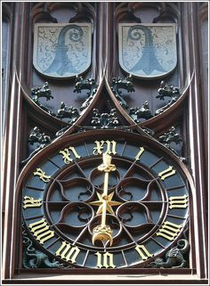 Roothus, Basler Rathaus, Townhall of Basel by Mo Westein 1, via Flickr
