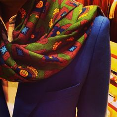 Softest wool& silk scarf ever!