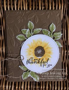 Painted Harvest, Stampin Up