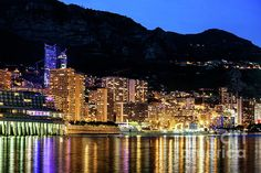 Monaco, South Beach Hotels, Southern Europe, City Lights, Monte Carlo, Beverly Hills, New York Skyline, Instagram Images, Wall Art