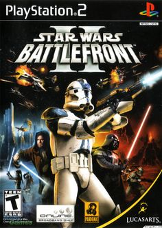 Star Wars Battlefront II, this is seriously the best game anyone had for like years!