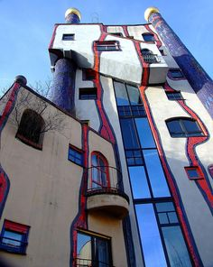 Hundertwasser house in Plochingen