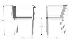 planos del sillón caja