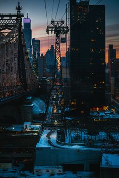 """Quiet Metropolis"" - sunset, New York City"
