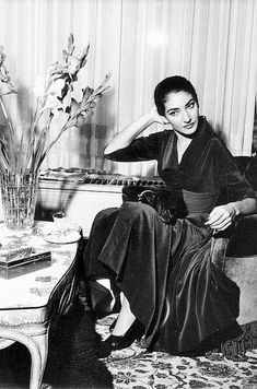 """I am not an angel and do not pretend to be. That is not one of my roles. But I am not a devil, either. I am a woman and a serious artist, and I would like so to be judged.""_____ Maria Callas #virGinger"