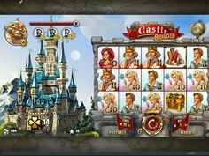 Each castle is bigger and more pompous than the previous one and takes more construction material to be completed.