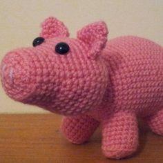 Flying Angel Pig Amigurumi Crochet Pattern : Pigs on Pinterest Pigs, Little Pigs and Amigurumi