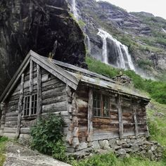 Cabin Porn          – Aurlandsdalen, Norway Submitted by Yngwie...