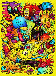 Crazy Ideas Series / Capiusa Festival 2014 by Luis Pinto, via Behance