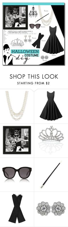 """""""DIY Halloween Costume"""" by carlavogel ❤ liked on Polyvore featuring Anne Klein, Punch, RoomMates Decor, CÉLINE, AGNELLE, halloweencostume and DIYHalloween"""