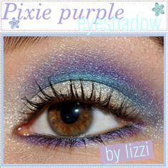 Pixie purple eye shadow (: