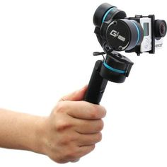 Feiyu Ultra Handheld Gimbal for GoPro HERO and 4 (Black) Feiyutech Diving Camera, Gopro Camera, Camera Gear, Camera Tips, Flash Photography, Underwater Photography, Best Dslr, Gopro Accessories, Gopro Kamera