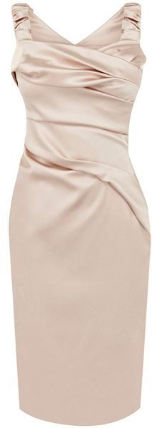Karen Millen Lingerie Satin Dress Pink | DRESSES I adore | Pinterest ...