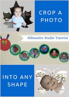 Crop a Photo into Any Shape | Silhouette Studio Tutorial