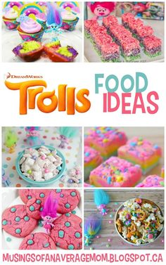 Everything you need for a Trolls Birthday Party. Invitations Free printable Trolls Invitations And here are three mo...