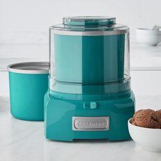 Cuisinart Ice Cream Maker with Extra Bowl Aqua