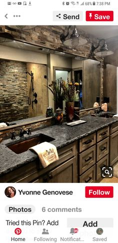 Home Remodeling Rustic Bathroom Remodeling Ideas - Check out the best Bathroom remodelling Ideas which are easy to do and shall be perfect for your Bathroom decor. Rustic Bathroom Remodel, House, Rustic Bathroom Designs, Dream Bathrooms, Home Remodeling, House Rooms, New Homes, Rustic Bathrooms, Rustic House