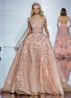 "miss-mandy-m: ""Lena Lomako for Zuhair Murad Spring 2015 Haute Couture """