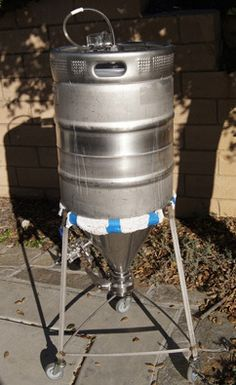 DIY $40 Conical Fermenter for #homebrewing