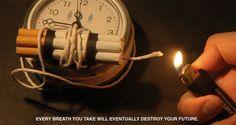 Chaque cigarette compte> Arrêter de fumer facilement