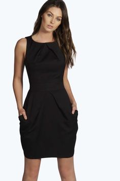 Persie Pleat Detail Dress alternative image