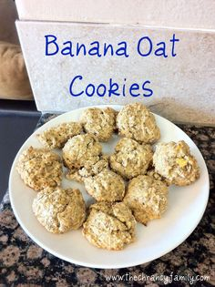 Banana Oat Cookies (Toddler Snack) Really good! Used as a nutrigrain bar crust. Omitted sugar and oil added applesauce and peanut butter and honey. May use a bit of brown sugar next time. Put elderberry jam in centers.