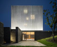 Suzhou Chapel by Neri & Hu Design and Research Office World Architecture Festival, Architecture Résidentielle, Modern Architecture Design, Religious Architecture, Chinese Architecture, Facade Design, House Design, Architecture Diagrams, Suzhou