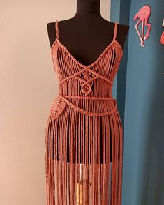 Boho Hippie, Bohemian Style, Festival Costumes, Festival Dress, Macrame Dress, Boho Dress, Slow Fashion, Boho Fashion, Festival Hippie