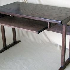 Computer Desk custom made by Noble Son Woodworks, Llc