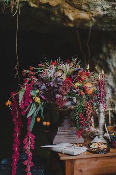 fall centerpiece #weddingflowers /weddingchicks/