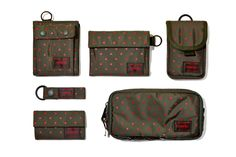 Image of Head Porter 2012 Fall/Winter Olive Stellar Accessories Collection