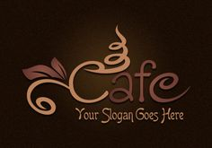 Download free cafe logo designed by Spinx Inc.