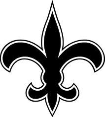 new orleans saints clip art new orleans saints alt logo by rh pinterest com new orleans saints clipart free new orleans saints christmas clipart