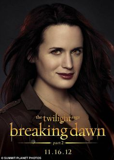 Breaking Dawn part 2 Elizabeth Reaser, as Esme Cullen