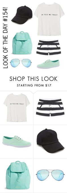"""""""Look of the Day #154!"""" by designer01kitty on Polyvore featuring MANGO, Juvia, Keds, rag & bone, Vera Bradley, Victoria Beckham, Tiffany, lookotheday and inteeswetrust"""