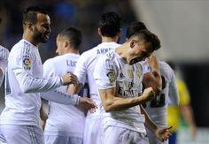 Cadiz 1-3 Real Madrid !  Good game for madrid !  #halamadrid #madrid #real #soccer #football #results