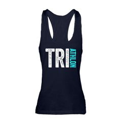 Triathlon Racerback Tank Top #running #biking #swimming
