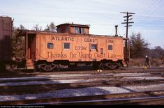 RailPictures.Net Photo: ACL 0732 Atlantic Coast Line Caboose at Montgomery, Alabama by David Harris