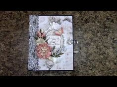 PART 1 TUTORIAL MINI ALBUM FOR BEGINNERS PS I LOVE YOU BY SHELLIE GEIGLE JS HOBBIES AND CRAFTS - YouTube