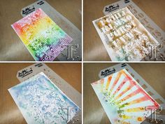 if you love the look of blended watercolor and looking for a different way to create colorful backgrounds, this month's tag is just the thing. like many crafters, i have a new love and appreciatio...