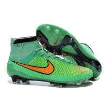 Nike Magista Obra FG Verde Naranja zapatos de fútbol baratos Zapatos De  Fútbol 87c013368e199