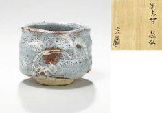 Kato Koemon [Mitsuo] (b. 1937) | SHINO STYLE STONEWARE TEA BOWL ...