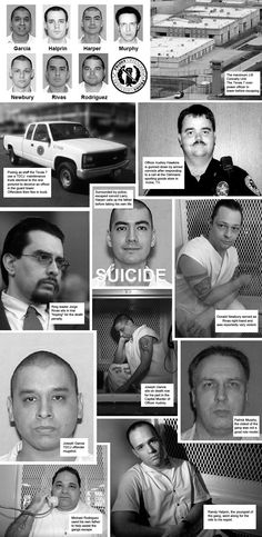 Texas Seven prison escape, Dec. 13, 2000, from the John B. Connally Unit, a maximum-security state prison near the South Texas city of Kenedy. Six of the seven were sentenced to death, the seventh, Harper, committed suicide to avoid capture.
