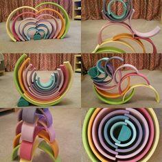 Pastel rainbow love