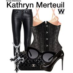 Inspired by Sarah Michelle Geller as Kathryn Merteuil in Cruel Intentions. Fandom Outfits, Emo Outfits, Stylish Outfits, Stylish Clothes, Cruel Intentions, Mimi Holliday, Cute Halloween Costumes, Halloween Ideas, Fashion Forecasting