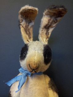 Hey, I found this really awesome Etsy listing at https://www.etsy.com/listing/285653511/primitive-bunny-rabbit-ooak